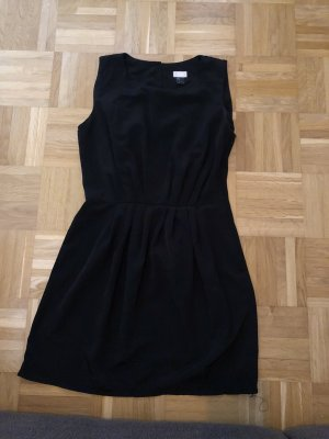 Kleid, schwarz, H&M, Gr. 38,