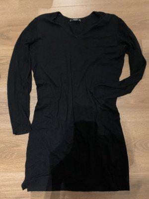 Kleid schwarz M 38 40 langarm Mango gerader Schnitt