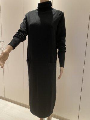 Kleid schwarz M/L 30% Viscose vorne mit Taschen neu mit Etikett