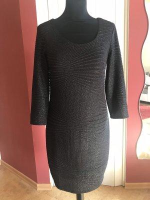 Kleid schwarz mit Glitzer