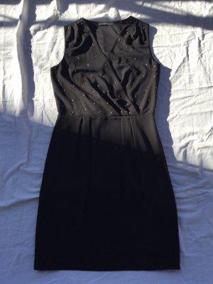 Kleid schwarz mit Nieten