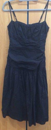 Kleid schwarz mit Reißverschluss, Sisley, Gr. 38