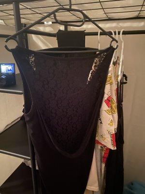 Kleid schwarz mit Spitze