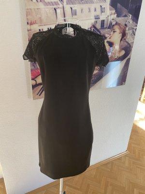 Kleid schwarz mit Spitze, Zara, M