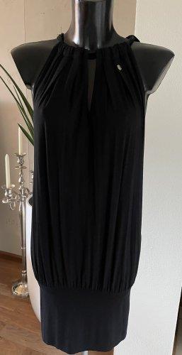 Kleid schwarz Neckholder Gr. S