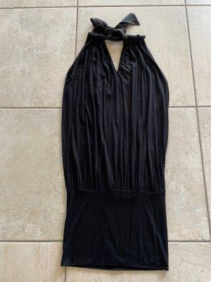Kocca Sukienka z dekoltem typu halter czarny Elastan