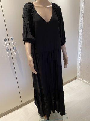 Kleid schwarz neu ohne Etikett gr L 100% Viscose