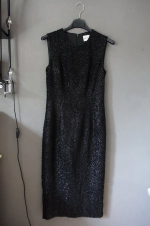 Reiss Sheath Dress black polyester