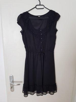 Kleid, schwarz, s.Oliver