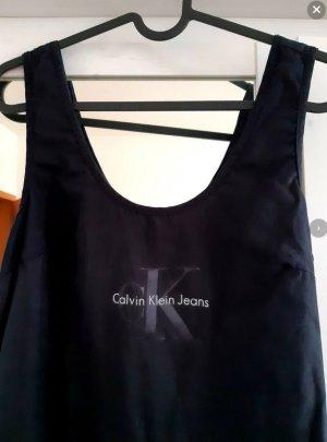 Kleid schwarz schlicht elegant Calvin Klein neu