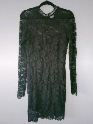 Kleid Schwarz Spitze H&M Gr. M Neu