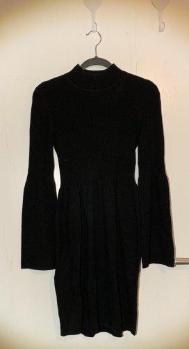 Kleid schwarz Strick Hallhuber XS