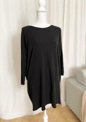 T-shirt jurk zwart