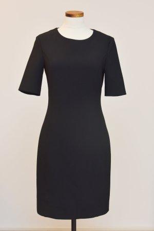 Cappellini Falda estilo lápiz negro tejido mezclado