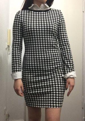 Kleid schwarz-weiß