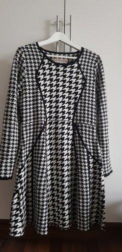 Kleid schwarz/ weiß