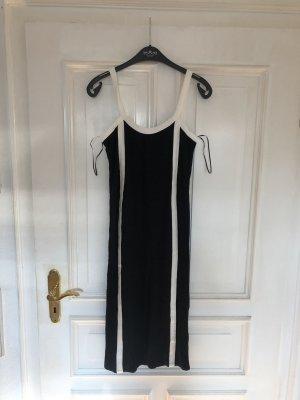 Kleid schwarz weiß
