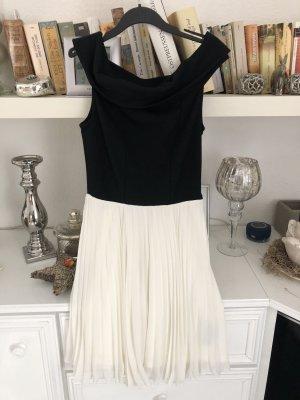 Kleid / schwarz-weiß / Gr. 36 S / ASOS