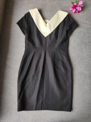 Kleid schwarz weiß Größe 38
