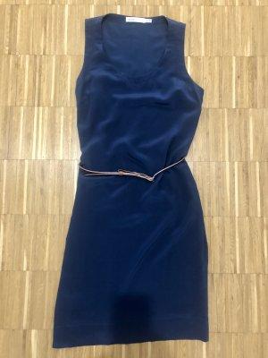 Kleid See by Chloé 38 Blau Seide