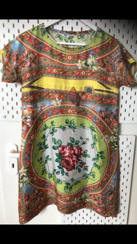 Dolce & Gabbana Robe à manches courtes multicolore