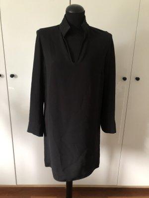 Kleid Seide schwarz 34