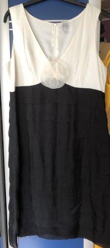 1.2.3 Paris Vestido de cóctel negro-blanco