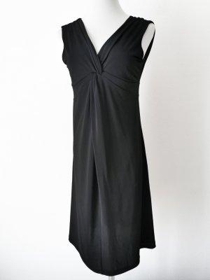 Kleid seidig schwarz