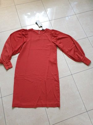 Kleid Selected Femme Gr. 34 Minikleid rostbraun casual basic
