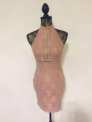 Kleid - Sexy Hingucker in rosè - neu