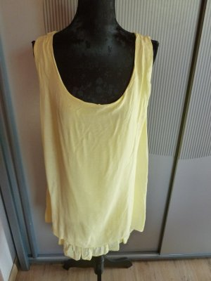Kleid Shirt gelb Made in Italy