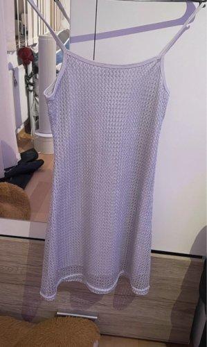 Good Look Paris Midi Dress white-silver-colored
