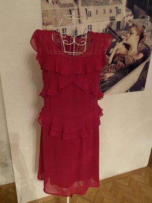 Sisley Vestido de cóctel rojo frambuesa-violeta