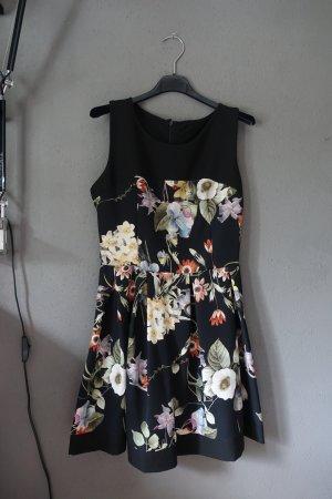 Kleid, Skaterkleid, Skaterdress, schwarz, Blumen, geblümt, sehr schön!
