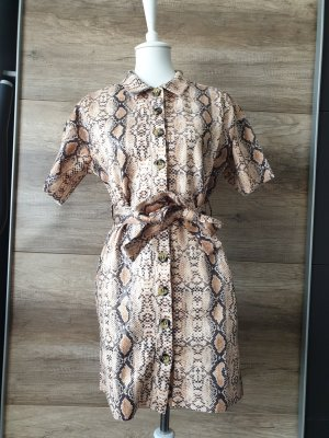 Butik Shirt Dress sand brown-brown