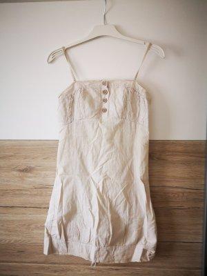 Kleid Sommer Beige/Creme