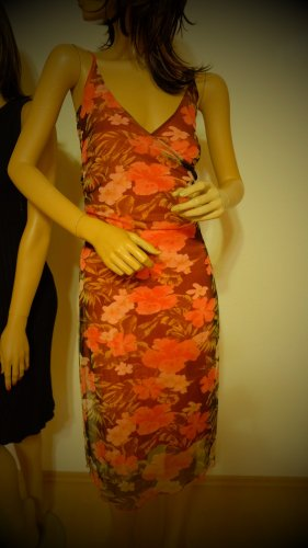 Kleid Sommer More and More rot 34