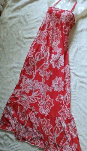 Kleid Sommer rot/weiß