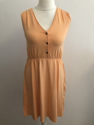 Kleid Sommerkleid apricot lachs Gr. 36/38