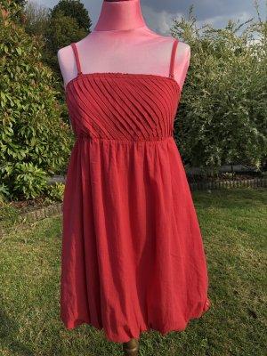 Kleid, Sommerkleid, Babydollkleid, Esprit, Rot, Gr. 34, Nagelneu