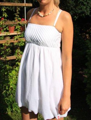 Kleid, Sommerkleid, Babydollkleid, Esprit, Weiss, Gr. 34, Nagelneu