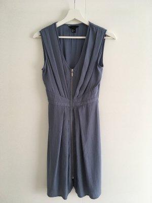 H&M Abito blusa grigio-grigio ardesia
