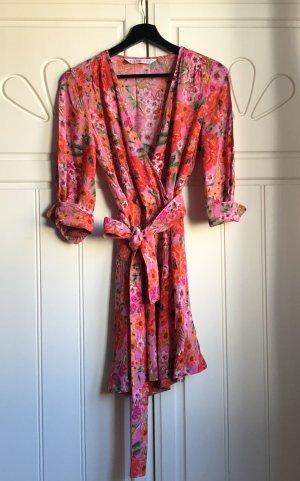 Kleid Sommerkleid Blumen Zara Gr. 36
