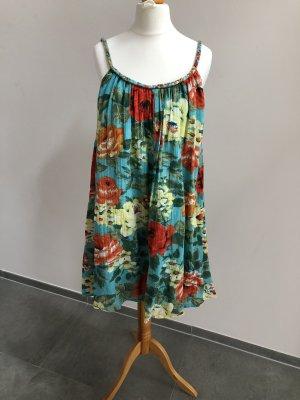 Kleid, Sommerkleid, Blumendesign, Gr. 36/38