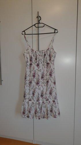 Kleid Sommerkleid Esprit 36 S weiß Blümchen