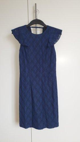 Kleid Sommerkleid Esprit blau Gr. 34 Etuikleid Neu