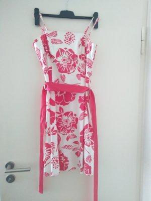 Kleid, Sommerkleid, pink/weiß Gr. 40 b.p.c. fashion, wie neu!