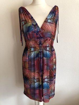 Kleid Sommerkleid Strandkleid gemustert Gr. M/L