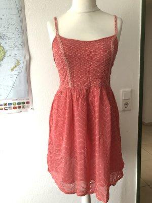Kleid Sommerkleid Trägerkleid hellrot Gr. M Pepe Jeans
