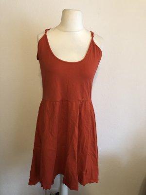 Kleid Sommerkleid Trägerkleid leicht Basic rot Gr. XL